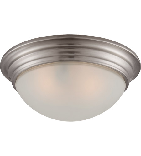 Savoy House 6-782-11-SN Signature 2 Light 11 inch Satin Nickel Flush Mount Ceiling Light photo