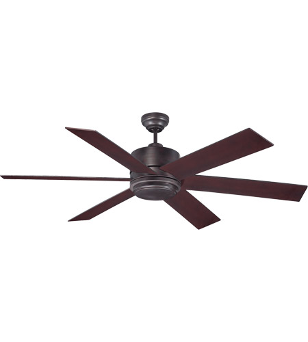 Savoy House Velocity 1 Light 60 Inch Ceiling Fan in English Bronze 60-820-613-13