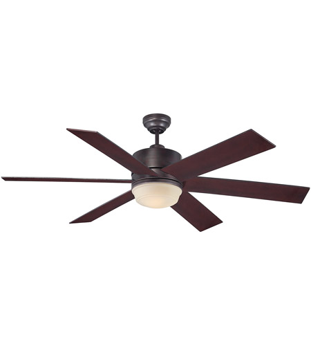 Savoy House Velocity 1 Light Ceiling Fan in English Bronze 60-820-613-13 photo
