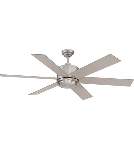 Savoy House Velocity 1 Light Ceiling Fan in Satin Nickel 60-820-6SV-SN photo