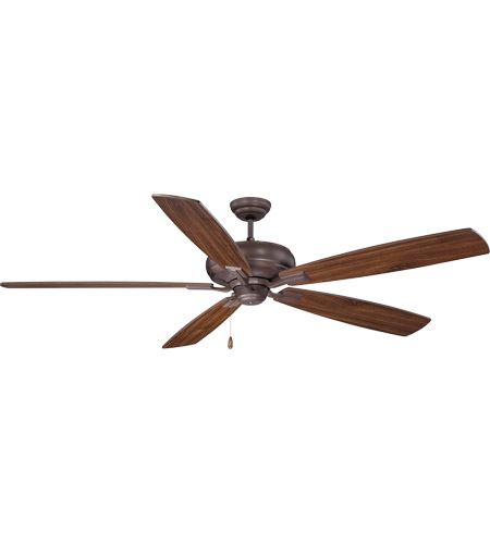 Savoy House 68-227-5WA-129 Wind Star 68 inch Espresso with Walnut Blades Ceiling Fan photo