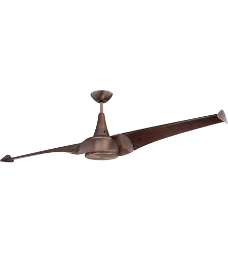 Savoy House 68-818-2WA-35 Ariel 68 inch Byzantine Bronze with Walnut Blades Ceiling Fan in White Frosted photo