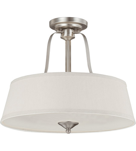 Savoy House 6P-2175-3-69 Maremma 3 Light 18 inch Pewter Semi-Flush Mount Ceiling Light photo