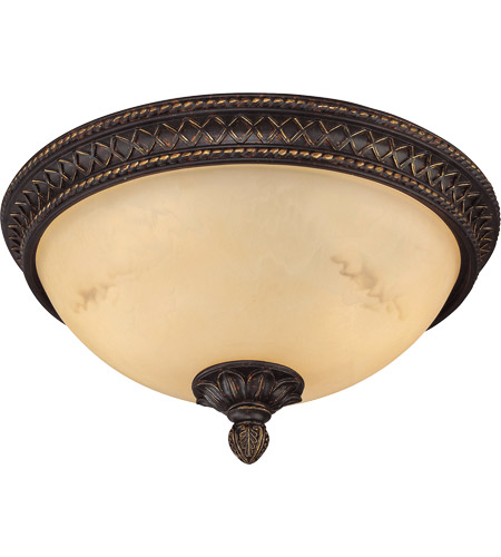 Savoy House Knight 2 Light Flush Mount in Antique Copper 6P-50214-13-16 photo