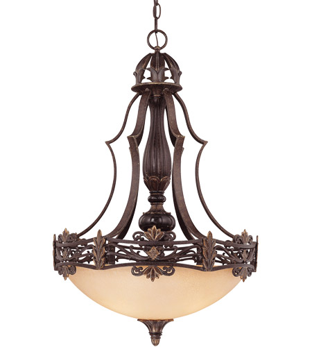 Savoy House Southerby 3 Light Pendant in Florencian Bronze 7-0154-3-76