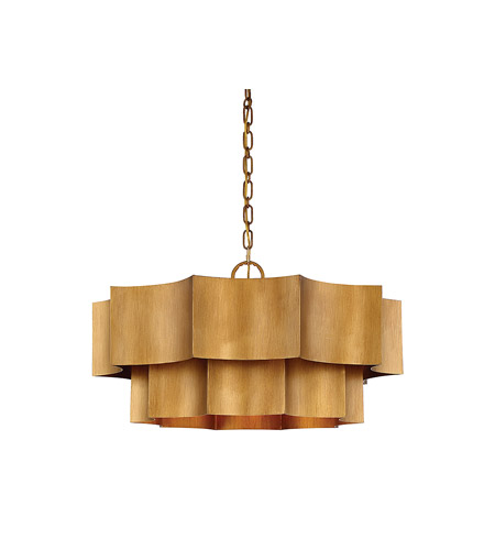 Savoy House 7-101-6-54 Shelby 6 Light 30 inch Gold Patina Pendant Ceiling Light photo
