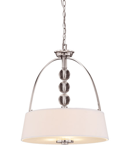Savoy House Murren 3 Light Pendant in Polished Nickel 7-1037-3-109 photo