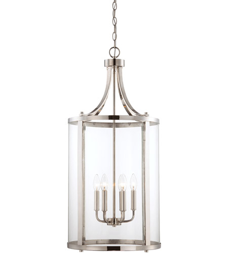Savoy House Penrose 6 Light Foyer in Polished Nickel 7-1041-6-109 photo