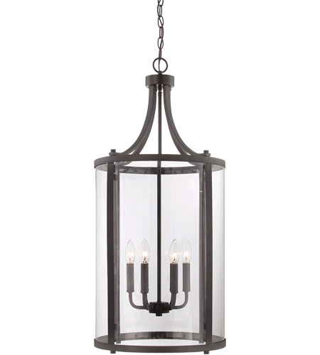 Savoy House 7-1041-6-13 Penrose 6 Light 16 inch English Bronze Foyer Lantern Ceiling Light, Medium photo