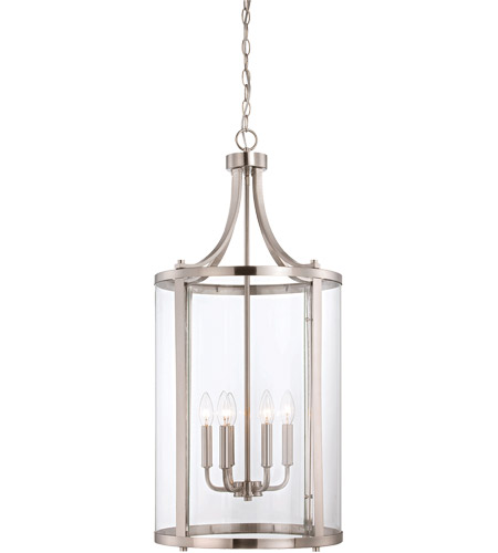 Savoy House 7-1041-6-SN Penrose 6 Light 16 inch Satin Nickel Foyer Lantern Ceiling Light, Medium photo