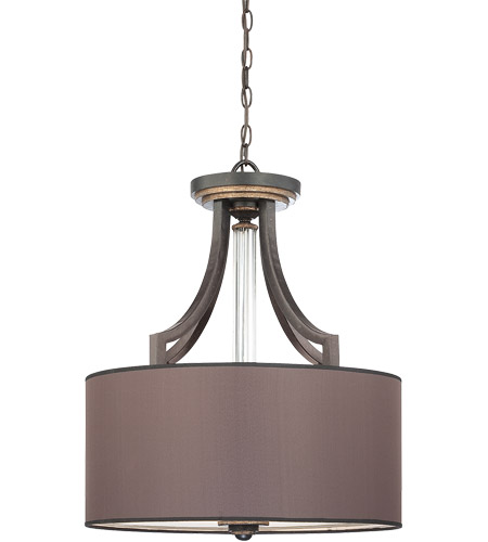 Savoy House Moderne Royal 4 Light Pendant in Distressed Bronze 7-1075-4-59 photo