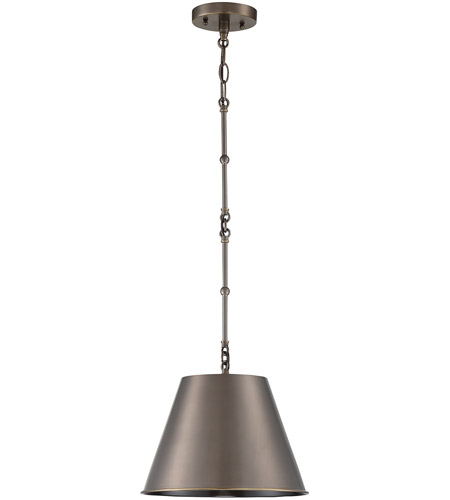 Savoy House 7-132-1-323 Alden 1 Light 12 inch Old Bronze Pendant Ceiling Light photo