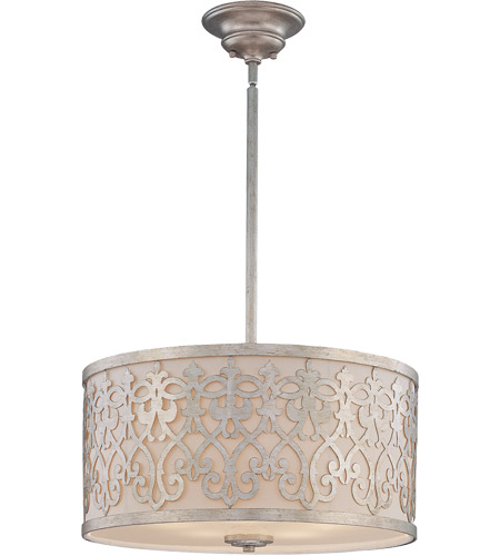 Savoy House 7-1441-5-211 Signature 5 Light 23 inch Argentum Pendant Ceiling Light photo