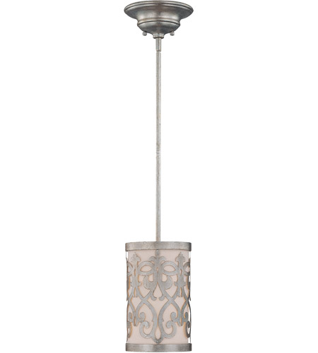 Savoy House 7-1443-1-211 Signature 1 Light 7 inch Argentum Mini Pendant Ceiling Light photo