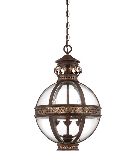 Savoy House Strasbourg 3 Light Pendant in Fiesta Bronze 7-1480-3-124