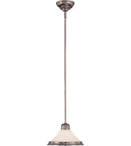 Savoy House Retro Thunder Mini Pendant in Brushed Pewter 7-20033-1-187 photo
