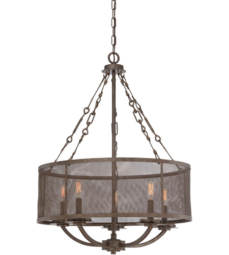 Savoy House Nouvel 5 Light Pendant in Galaxy Bronze 7-2502-5-42 photo