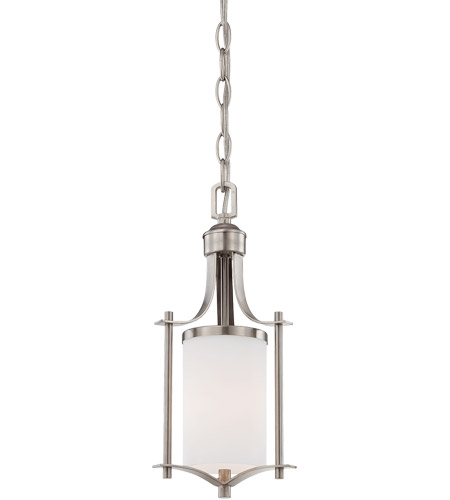 Savoy House Colton 1 Light Mini Pendant in Satin Nickel 7-336-1-SN