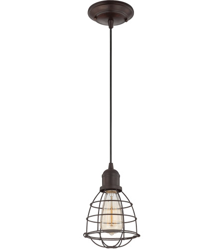 Savoy House Vintage Pendant 1 Light Mini Pendant in English Bronze 7-4130-1-13