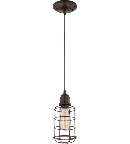 Savoy House Vintage Pendant 1 Light Mini Pendant in English Bronze 7-4133-1-13