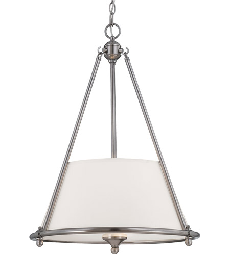 Savoy House Foxcroft 3 Light Pendant in Brushed Pewter 7-4151-3-187