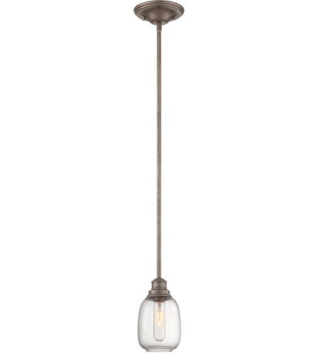Savoy House Orsay 1 Light Mini Pendant in Industrial Steel 7-4332-1-27