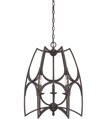 Savoy House Society Collection 3 Light Pendant in English Bronze 7-4350-3-13