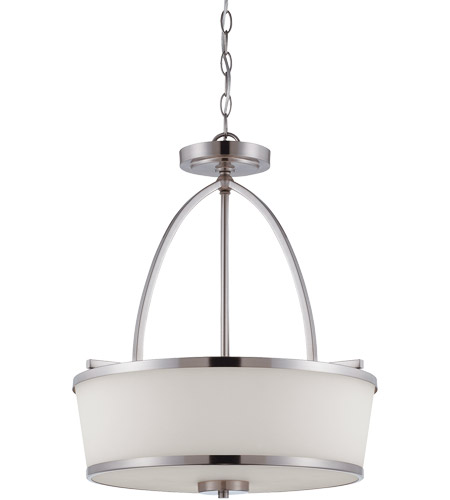 Savoy House 7-4386-3-SN Hagen 3 Light 18 inch Satin Nickel Pendant Ceiling Light photo