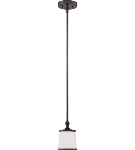 Savoy House Hagen 1 Light Mini Pendant in English Bronze 7-4387-1-13