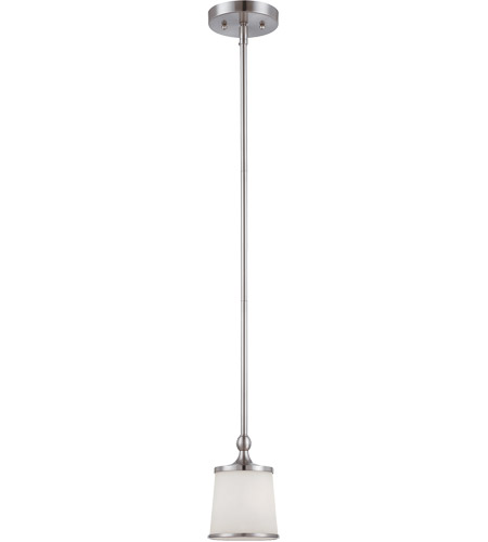 Savoy House 7-4387-1-SN Hagen 1 Light 5 inch Satin Nickel Mini Pendant Ceiling Light photo