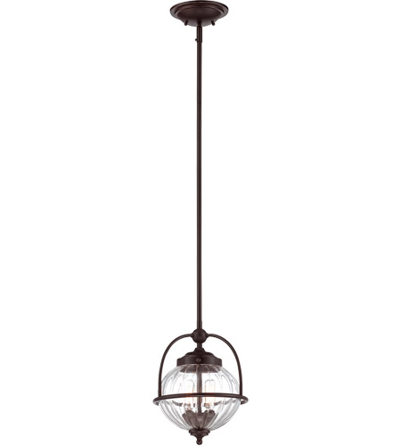 Savoy House 7-460-2-213 Banbury 2 Light 9 inch English Bronze with Gold Pendant Ceiling Light photo
