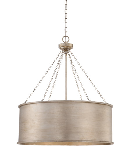 Savoy House 7-488-6-53 Rochester 6 Light 25 inch Silver Patina Pendant Ceiling Light photo
