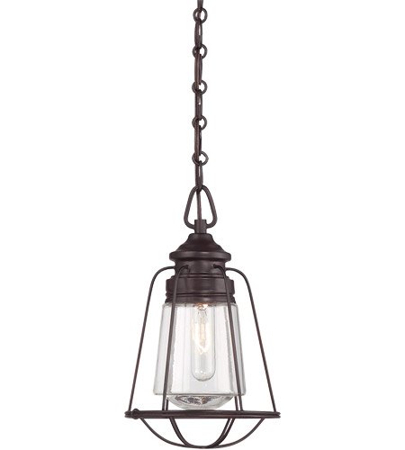 Savoy House 7-5060-1-13 Vintage 1 Light 8 inch English Bronze Mini Pendant Ceiling Light photo