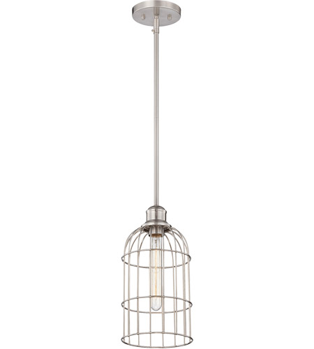Savoy House 7-5062-1-SN Vintage Pendant 1 Light 7 inch Satin Nickel Mini Pendant Ceiling Light photo