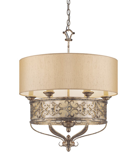 Savoy House Savonia 6 Light Pendant in Oxidized Silver 7-507-6-128