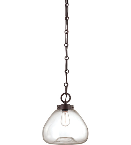 Savoy House 7-5370-1-13 Vintage 1 Light 12 inch English Bronze Pendant Ceiling Light photo