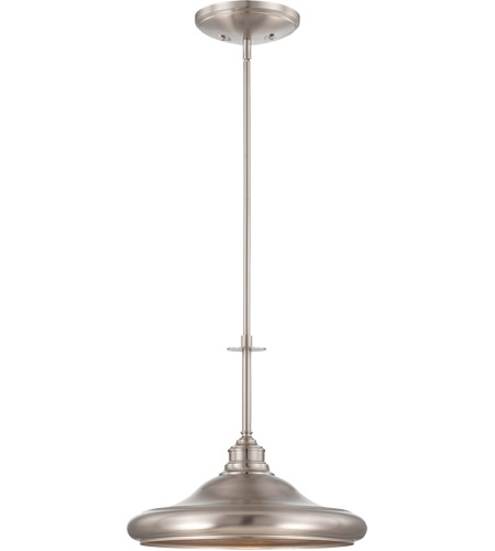 Savoy House Bancroft 1 Light Pendant in Satin Nickel 7-5452-1-SN