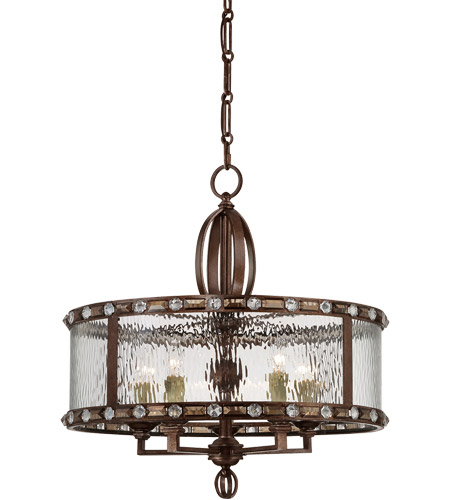 Savoy House Paragon 5 Light Pendant in Gilded Bronze 7-6031-5-131 photo