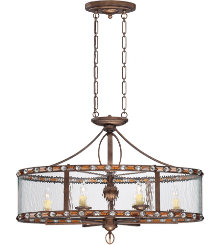 Savoy House Paragon 6 Light Island Light in Guilded Bronze 7-6035-6-131 photo