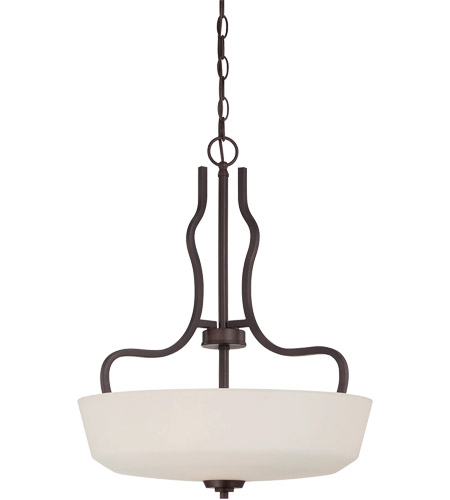 Savoy House Charlton 3 Light Pendant in English Bronze 7-6222-3-13