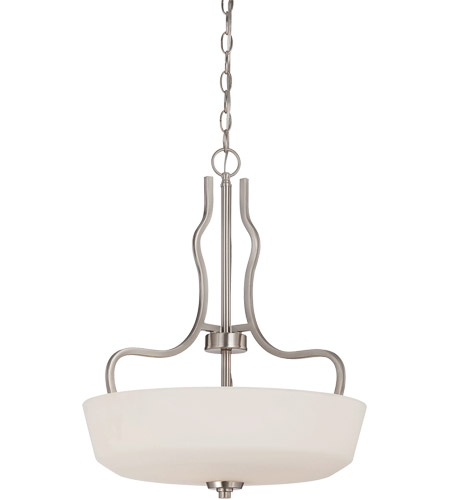 Savoy House Charlton 3 Light Pendant in Satin Nickel 7-6222-3-SN