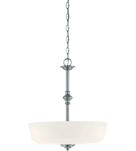Savoy House 7-6839-3-11 Melrose 3 Light 18 inch Polished Chrome Pendant Ceiling Light photo
