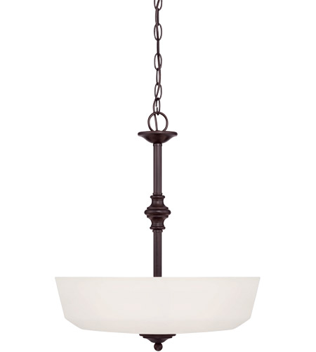 Savoy House 7-6839-3-13 Melrose 3 Light 18 inch English Bronze Pendant Ceiling Light photo
