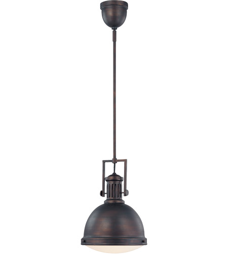 Savoy House Signature 1 Light Pendant in English Bronze 7-730-1-13
