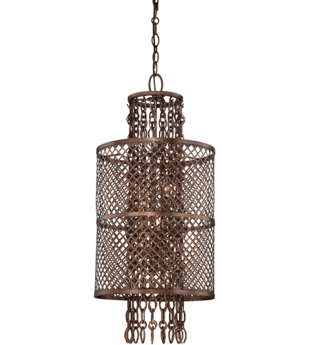 Savoy House Barclay 4 Light Pendant in Guilded Bronze 7-7602-4-131 photo