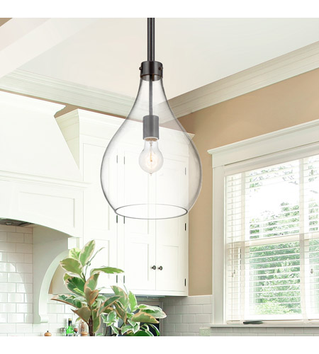 Savoy House 7-804-1-02 Pulaski 1 Light 10 inch Oiled Bronze Mini Pendant Ceiling Light alternative photo thumbnail