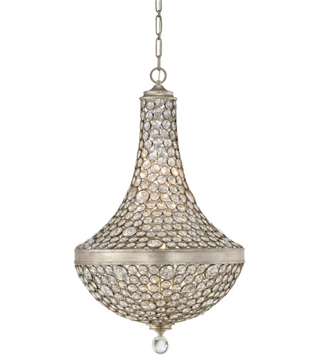Savoy House 7-831-8-211 Obsidian 8 Light 26 inch Argentum Pendant Ceiling Light photo