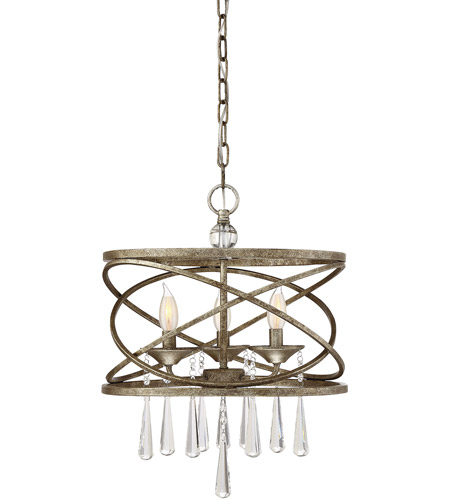 Savoy House 7-900-3-114 Trumbull 3 Light 16 inch Brittannia Gold Pendant Ceiling Light photo thumbnail
