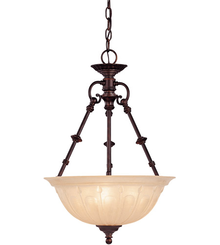 Savoy House 7-9006-3-13 Akron 3 Light 12 inch English Bronze Pendant Ceiling Light photo