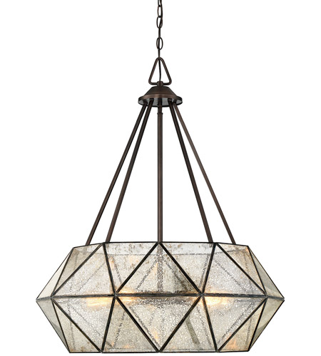 Savoy House 7-9009-5-28 Tartan 5 Light 28 inch Oiled Burnished Bronze Pendant Ceiling Light photo